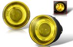 2002 Dodge Durango Yellow Halo Projector Fog Lights