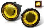 Infiniti FX45 2003-2005 Yellow Halo Projector Fog Lights