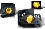 2000 Ford F150 Yellow Halo Projector Fog Lights