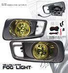 2000 Honda Civic Si Yellow JDM Style Fog Lights Kit