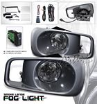 Honda Civic Si 1999-2000 Smoked JDM Style Fog Lights Kit