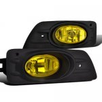 2007 Honda Accord Sedan Yellow Fog Lights Kit