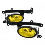 Honda Civic Coupe 2006-2008 Yellow Fog Lights Kit