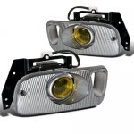 1994 Honda Civic Yellow Fog Lights Kit