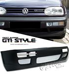 1996 VW Golf 3 GTI Style Silver Vent Front Bumper