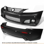 Lexus IS350 2006-2008 IS-F Style Front and Rear Bumpers Conversion