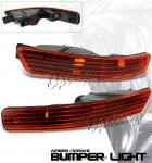 2001 Acura Integra Depo Amber Smoked Front Bumper Lights