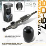 1993 Mazda Miata Carbon Fiber Shift Knob and Short Shifter