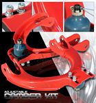 Honda Civic 1988-1991 Red Front Camber Kit
