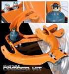 1992 Acura Integra Orange Front Camber Kit