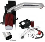 2006 Dodge Ram V8 Cold Air Intake with Heat Shield and Red Filter