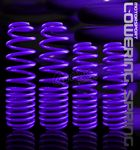 1991 Acura Integra Purple Lowering Springs