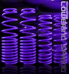 Honda CRX 1988-1991 Purple Lowering Springs