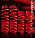 1991 Acura Integra Red Lowering Springs