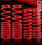 1989 Honda CRX Red Lowering Springs