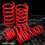 Nissan Sentra 1995-1999 Red Lowering Springs