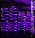 Honda Accord 1998-2002 Purple Lowering Springs