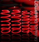 Ford Mustang GT 1999-2004 Red Lowering Springs