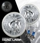 1984 Toyota Land Cruiser 7 Inch Sealed Beam Headlight Conversion