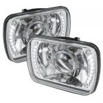 1993 Jeep Wrangler LED Sealed Beam Projector Headlight Conversion