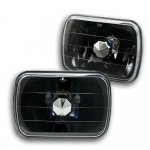 1988 Jeep Wrangler Black Sealed Beam Headlight Conversion