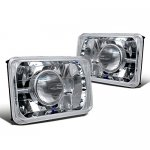 1988 Dodge Caravan 4 Inch Sealed Beam Projector Headlight Conversion