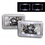 1991 Ford LTD Crown Victoria Halo Sealed Beam Headlight Conversion