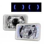 Eagle Talon 1990-1991 Blue LED Sealed Beam Projector Headlight Conversion