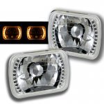 1991 Nissan 240SX Amber LED Sealed Beam Headlight Conversion