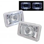 1986 Toyota Van Halo Sealed Beam Projector Headlight Conversion