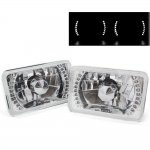 1991 Ford LTD Crown Victoria White LED Sealed Beam Headlight Conversion