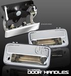 GMC S15 Pickup 1995-1998 Chrome Door Handles and Tailgate Handle Set