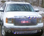 GMC Sierra 3500HD 2007-2010 Aluminum Lower Billet Grille Insert