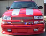 2002 Chevy S10 Polished Aluminum Billet Grille Insert