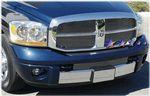 2006 Dodge Ram Polished Aluminum Billet Grille Insert