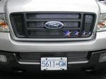 2005 Ford F150 Bars Style Billet Grille Insert