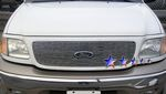 1999 Ford Expedition Polished Aluminum Billet Grille Insert