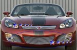 Saturn Sky Red Line 2007-2009 Aluminum Lower Bumper Billet Grille Insert