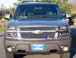 2001 Chevy Avalanche Polished Aluminum Billet Grille Insert
