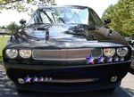 2010 Dodge Challenger Polished Aluminum Lower Bumper Billet Grille Insert