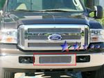 2005 Ford F250 Super Duty Polished Aluminum Lower Bumper Billet Grille Insert