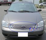 2007 Ford Focus Polished Aluminum Billet Grille Insert