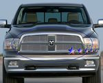 Dodge Ram 2009-2010 Polished Aluminum Billet Grille Insert