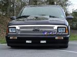 1996 Chevy S10 Polished Aluminum Billet Grille Insert