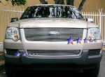 2006 Ford Explorer Polished Aluminum Lower Bumper Billet Grille Insert