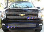 Chevy Silverado 2007-2013 Lower Bumper Vertical Billet Grille Insert