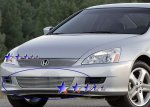 Honda Accord Coupe 2006-2007 Aluminum Lower Bumper Billet Grille Insert