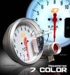 White Dial 11000RPM Tachometer Gauge