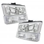 2005 Chevy Avalanche Clear Headlights and Bumper Lights