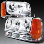 Cadillac Escalade 1999-2000 Clear Headlights and Corner Lights